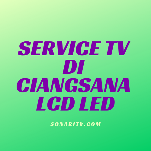 Service TV di Ciangsana LCD LED